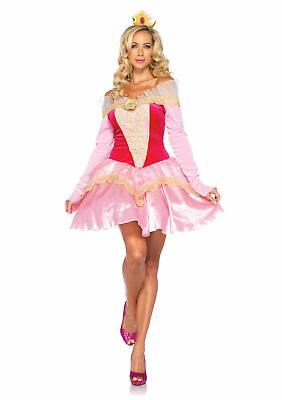 Disney Princess Aurora Sleeping Beauty Adult Leg Avenue Costume(E) (Disney Sleeping Beauty Adult Costume)