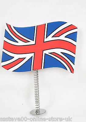 Union Jack GB UK Ribbon Ball Car Aerial Antenna Topper & desk  pencil topper new
