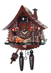 cuckoo clock black forest quarz germany quartz new
