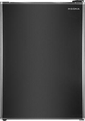 Insignia- 2.6 Cu. Ft. Mini Fridge - Black