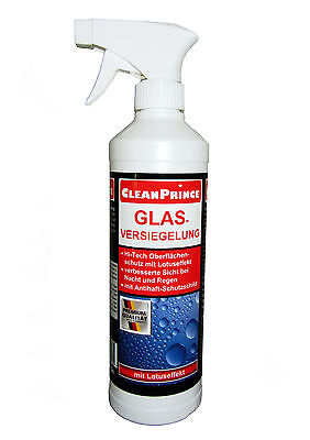 Glasversiegelung 500 ml | Regenabweiser Lotuseffekt Scheibenversiegelung Auto
