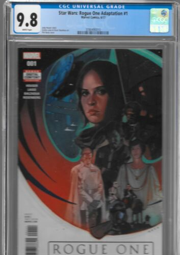 Rogue One 1 CGC 9.8 1st Cassian K-2SO Krennic Star Wars Marvel 2017 NOTO Variant