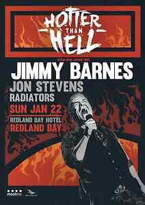 Jimmy Barnes Hotter Than Hell Bray Park Pine Rivers Area Preview