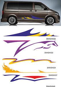 Motorhome, Caravan, Camper Van vinyl Graphics, Decals, Stripes