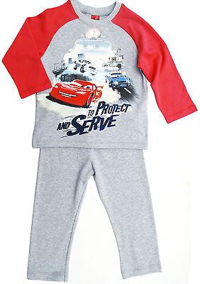 NEU! Disney Pixar Cars Schlafanzug Pyjama Nachtwäsche Baumwolle 98 104 116 128  ()