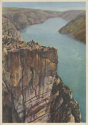 Post Card - Norway / Prekestolen, Lysefjorden