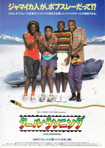 COOL RUNNINGS - Original Japanese  Mini Poster Chirashi