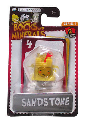 Science Kids Games (Basher Science Rocks & Minerals Sandstone Series 1 with Game Cards)