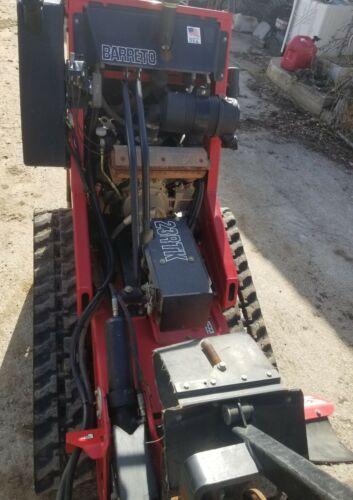 "Barreto walk on tracked trencher 23RTK 48"" bar"