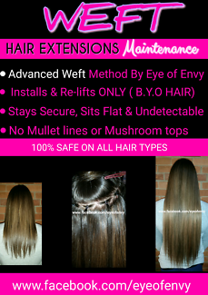 ADVANCED WEFT HAIR EXTENSION MAINTENANCE- INSTALLS & RE-LIFTS