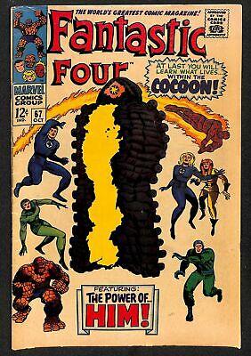 Fantastic Four #67 VG 4.0 1st HIM / Warlock! Marvel Comics