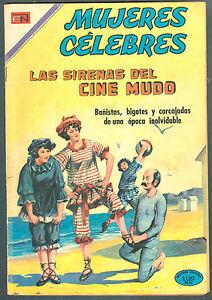 MUJERES-CELEBRES-112-LAS-SIRENES-DEL-CINE-MUDO-SPANISH-MEXICAN-COMIC-NOVARO