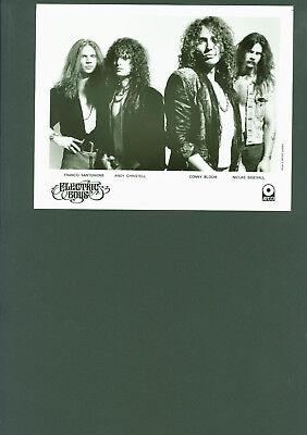 Electric Boys press photo Hard Rock Hair Metal Sweden Conny Bloom