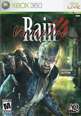 Xbox 360 Vampire Rain Video Game Action Adventure Fps Shooter Online Complete