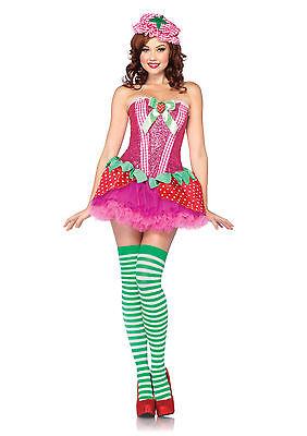 Adult Sexy Strawberry Sweetie Costume