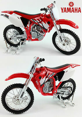 YAMAHA YZ-F 450 1:18 Die-Cast Motocross MX Toy Model Bike Red