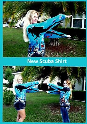 Guard Dive Shirt - SCUBA SHIRTS - RASH GUARD - DIVE OUT OF THE WATER - PUT YOUR ARMS TOGETHER.