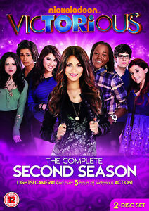 VICTORIOUS COMPLETE SEASON 2 DVD Second Series Victoria Justice UK New Sealed R2