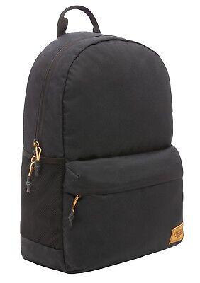 Timberland Rucksack Black Classic Backpack School Casual Smart Work Bag Laptop
