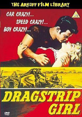 Dragstrip Girl DVD Fay Spain Steve Terrell Edward Original UK Rele New Sealed R2
