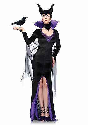 Maleficent Adult Women Dress Fancy Costume Halloween/Cosplay Black Medium Size