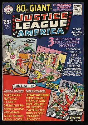 Justice League Of America #39 VF 8.0