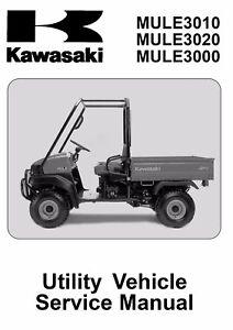 kawasaki mule manual ebay rh ebay com Kawasaki Mule 610 4WD Kawasaki Mule 610 Specifications
