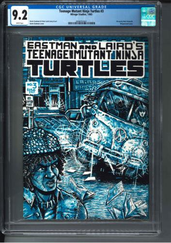 Teenage Mutant Ninja Turtles #3 CGC 9.2 High Grade TMNT First Printing