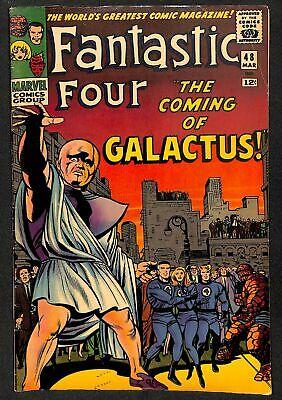 Fantastic Four #48 VG+ 4.5 1st Galactus Silver Surfer! Marvel Comics