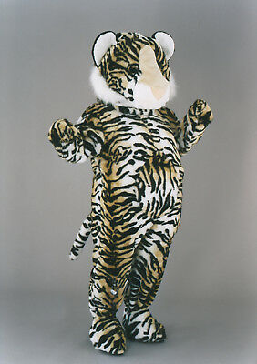 Tiger Costume Mascot Character Advertising Paneling Promotional Plush Adult 17a