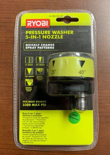 Ryobi 1003-524-628 Pressure Washer 5-IN-1 Nozzle