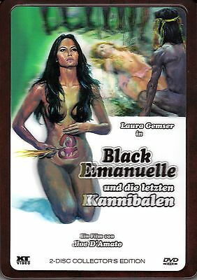 Emanuelle and the Last Cannibals , 3D-Holocover Ultrasteelbook , new , Black](The Last Halloween Dvd)