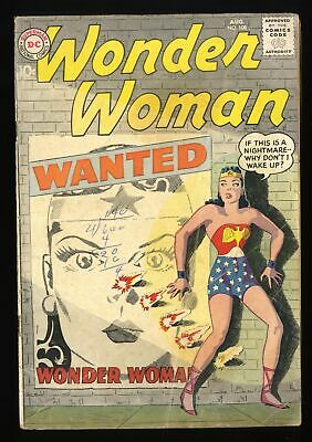 Wonder Woman #108 GD/VG 3.0