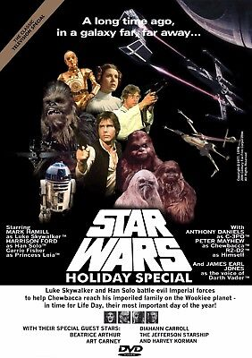 Star Wars Holiday Special 1978 Unreleased Dvd  Free Usa Shipping