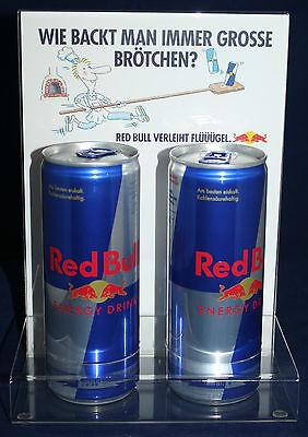 Red Bull Energy Drink Dosenaufsteller Dosenhalter Tischaufsteller Motiv NEU OVP