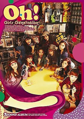 K-POP GIRLS' GENERATION SNSD 2nd Album [Oh!] CD Sealed Music CD