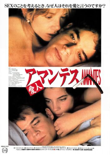 AMANTES   THE LOVERS- Original Japanese  Mini Poster Chirashi
