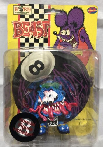 Ed Roth`s Rat Fink : Beast action figure  Planet Toys 2000