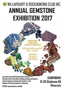 ***HUGE GEMSTONE EXHIBITION...THIS WEEKEND!*** Ocean Reef Joondalup Area Preview