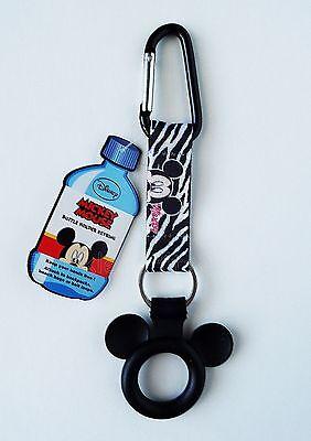 Disney - Mickey Mouse -  Water Bottle Holder Keychain/Keyring - Backpack -