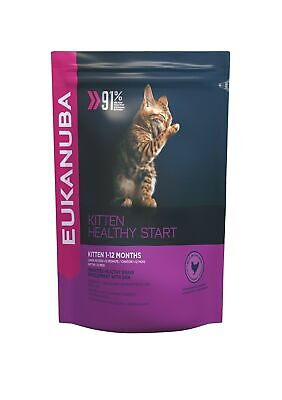 Eukanuba Kitten Dry Cat Food Chicken Liver, 400 g