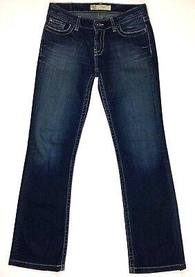 BKE Denim Kate Jeans Womens Size 27x31.5 (31x31) Bootcut Dark Wash Stretch  Kate Bootcut Jeans