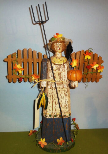 """Early BETHANY LOWE series SEASONS OF WILLIAMSBURG 16 1/2"""" HALLOWEEN WITCH- RARE!"""