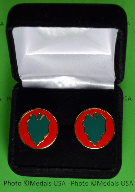 24th Infantry Division Cuff Links Army cufflinks