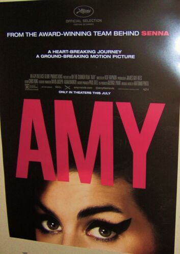 AMY WINEHOUSE Original Full Color 2015 Promo Poster 11 1/2 x 16 Inchs Very COOL
