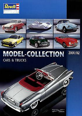 Image of 0008RE Revell Modellauto Katalog 2001 2002 metal model cars catalog D GB F NL