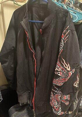 Maharishi Men's black Denim jacket