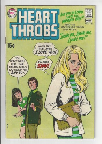 HEART THROBS #125, 1970, FN CONDITION COPY