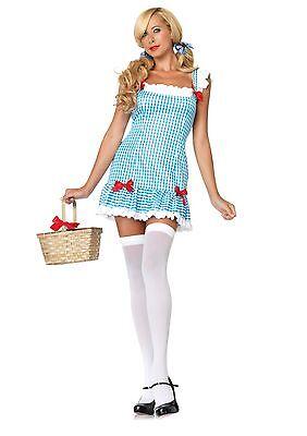 Dorothy Zauberer oz Damen Halloween Sexy Gingham Kostüm - Dorothy Halloween Kostüm