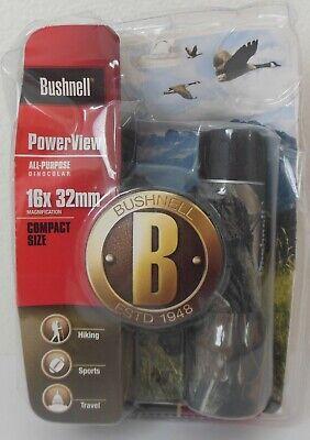 Bushnell Powerview 16x32 Binoculars, Camo